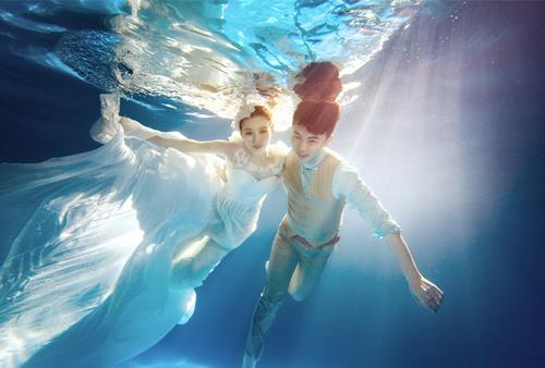 潜水婚纱拍摄刺激又难忘 做好准备才能感