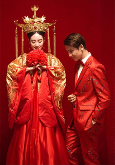轻奢中式系列婚纱摄影