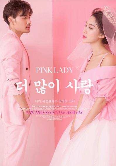 粉色火烈鸟系列婚纱摄影