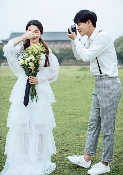 小清新校园系列婚纱照