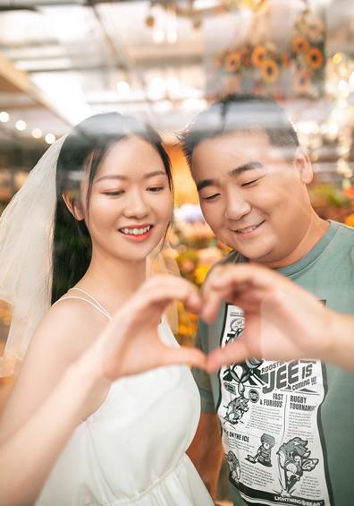 元先生 & 胡小姐 婚纱照