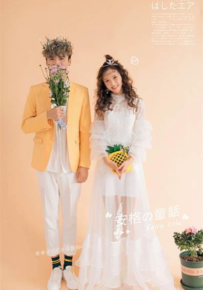 小清新韩式主题婚纱照