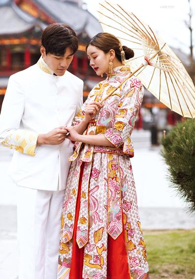 《中国囍》国风系列婚纱