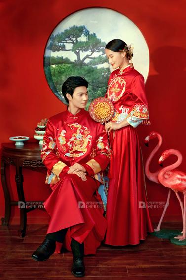 《复古中式》系列婚纱照