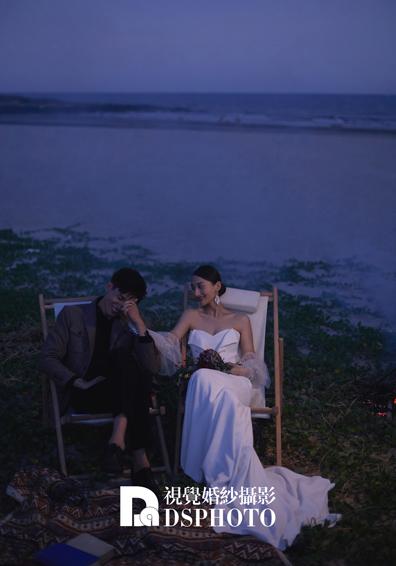 《浪漫夜景》系列婚纱照