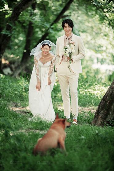 《清新森系》系列婚纱照